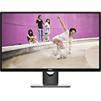 DELL SE2717H 68,6 cm (27 Zoll) Monitor (VGA, HDMI, LED, 6ms Reaktionszeit) schwarz/silber
