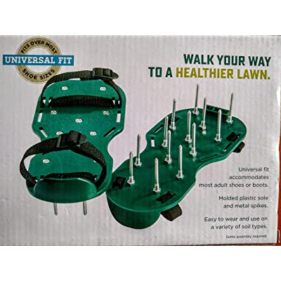 Nantucket Lawn Aerating Sandles for Manual Lawn Aerating - Universal Fit : Garden & Outdoor