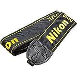 Nikon ネックストラップ D800E付属 一眼レフ用 シンプル ブラック AN-DC6E