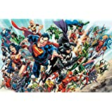 "Trends International DC Comics - Justice League Rebirth - Group Wall Poster, 22.375"" x 34"", Premium Unframed Version"