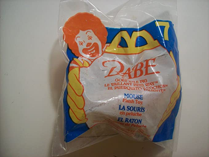 Amazon.com: Mouse Beanie from Babe Mcdonalds Happy Meal Toy ...