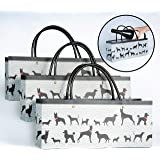 Wine Dog Gift Bags Set of 3 Superior Quality Paper Gift Bags Sure to Please any Dog Lover by Simply Charmed