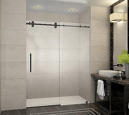 aston langham 56 to 60 x 75 completely frameless sliding shower