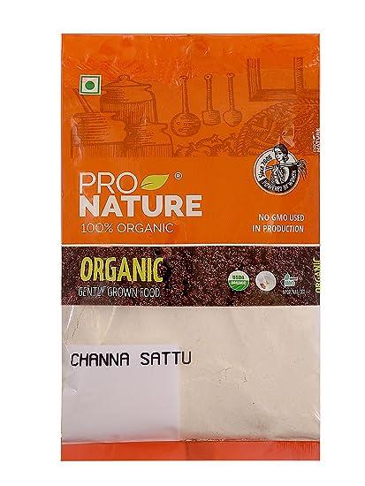 Pro Nature 100% Organic Channa Sattu, 250g
