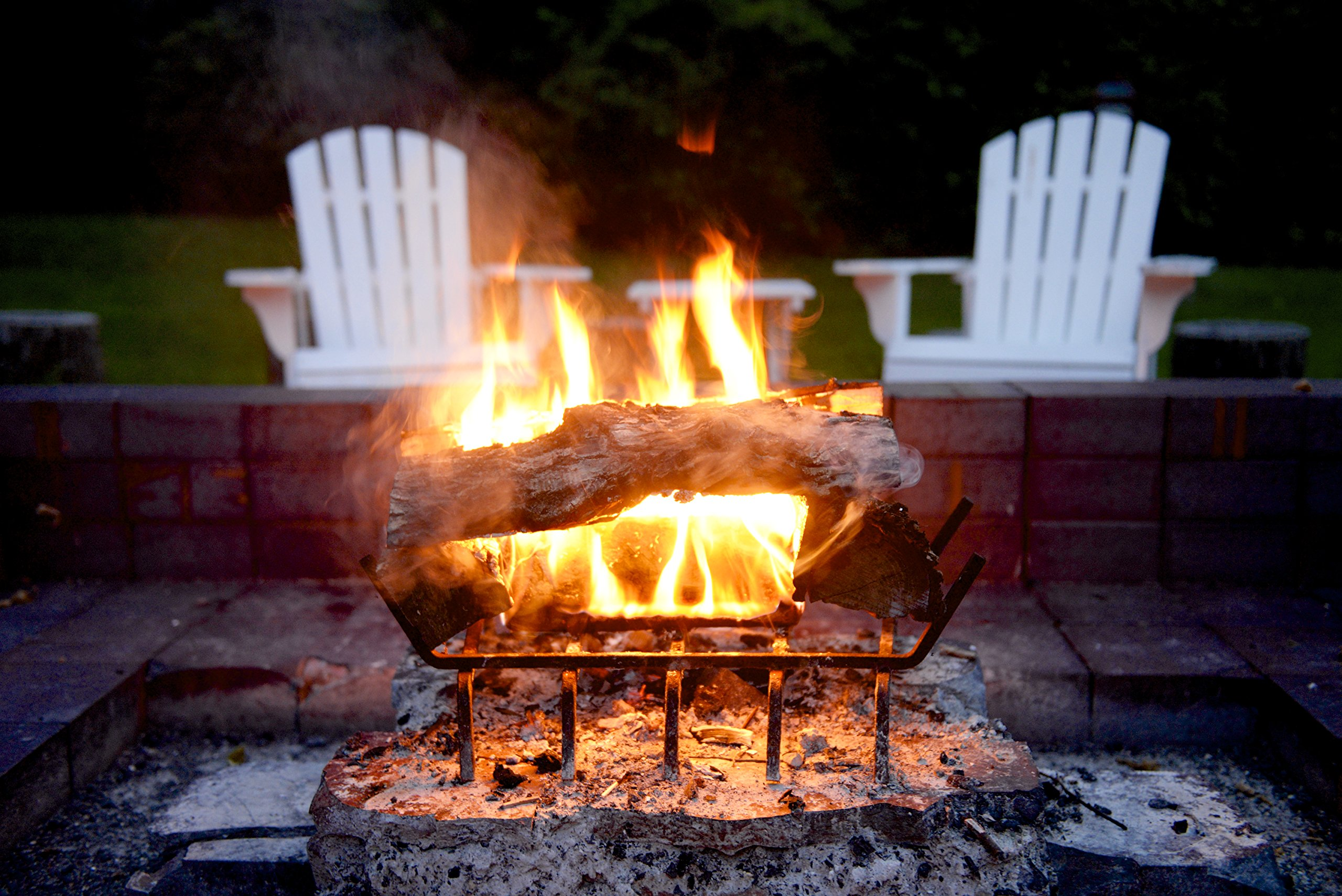 Pine Mountain Ultraflame 3-Hour Firelogs, 6 Logs (4152501351) Long Burning Firelog for Campfire, Fireplace, Fire Pit, Indoor & Outdoor Use by Pine Mountain