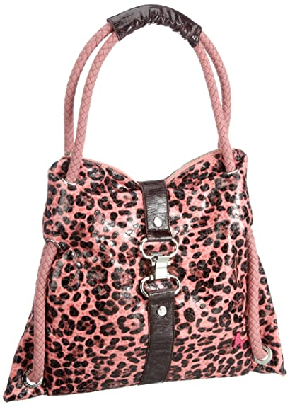 Womens Funkyline - natural wild - Tuesday - mauve Shoulder Bag Poodlebags lSWk1