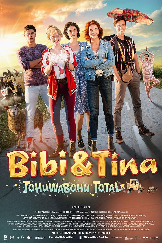 Bibi & Tina - Tohuwabohu Total - Blocksberg Film Poster Plakat Druck ...