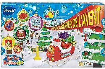 Calendrier De Lavent Tut Tut 2019.Vtech 183705 Super Calendrier De L Avent Tut Tut Bolides
