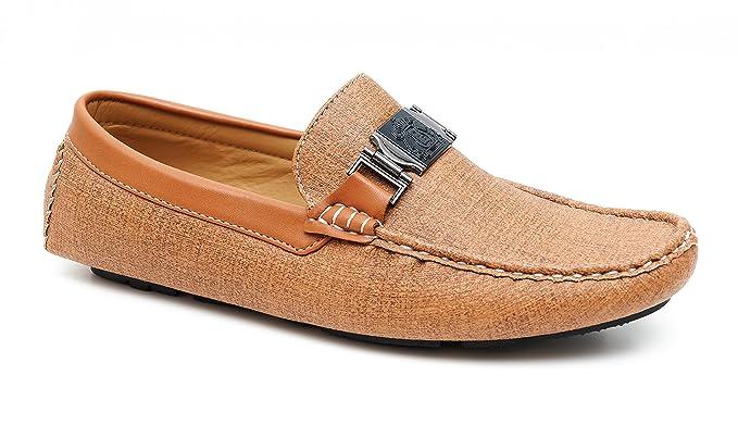 Uomo Casual In Eleganti Scarpe Cammello Mocassini Shoes Beige Evoga DIbeYWH2E9