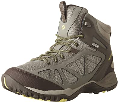 Merrell Women's Siren Sport Q2 Mid Waterproof Hiking Boot, Dusty Olive, ...