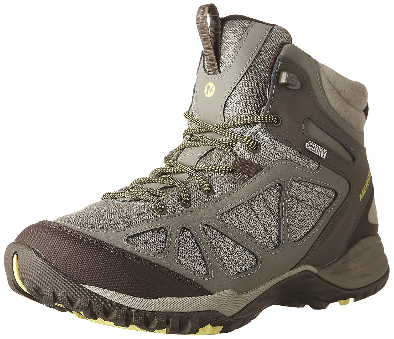 Merrell Women's Siren Sport Q2 Mid Waterproof Hiking Boot B01HFQAFJW 6 W US|Dusty Olive