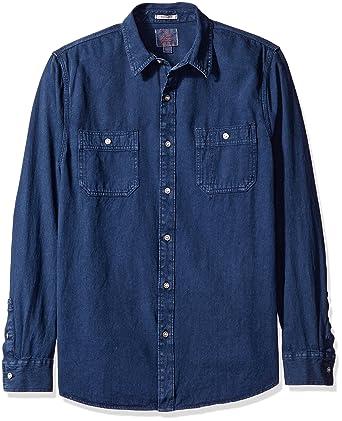 174af25846 Lucky Brand Men s Denim Western Shirt