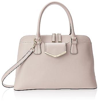 964074d309d Amazon.com: Calvin Klein On My Corner Saffiano Satchel, Sugarplum: Clothing