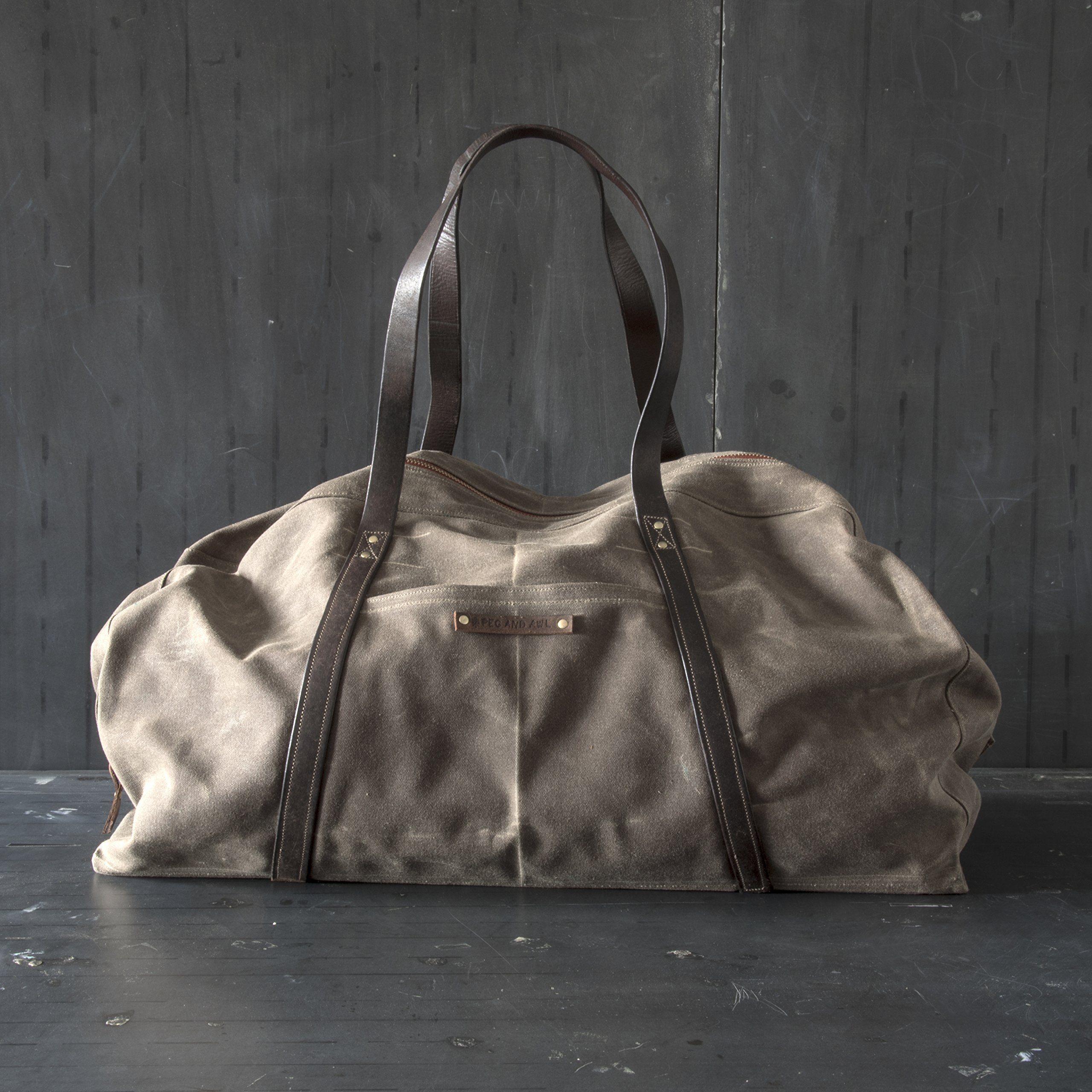 Weekender by Peg and Awl