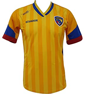 Ecuador Soccer Mens Jersey New Copa America 2016 Exclusive Design