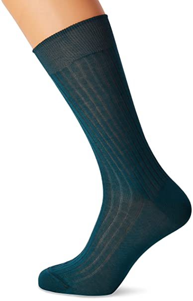 Scalpers Classic Socks 03, Calcetines para Hombre, Green, 10