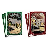 Hallmark Thomas Kinkade Card Assortment, Snowy