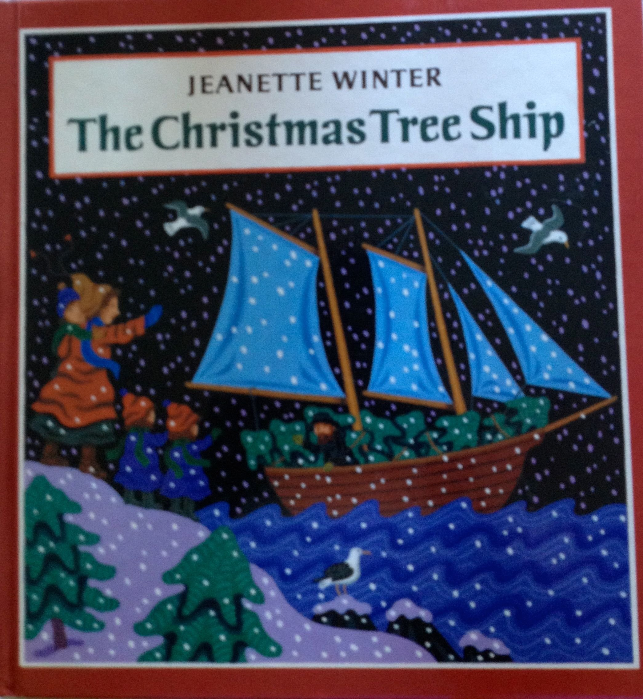 the christmas tree ship jeanette winter 9780399226939 amazoncom books