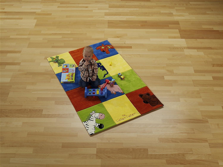 Kinderteppich die lieben sieben  Die Lieben Sieben Kinderteppich LS-2197-01 150x220cm: Amazon.de ...