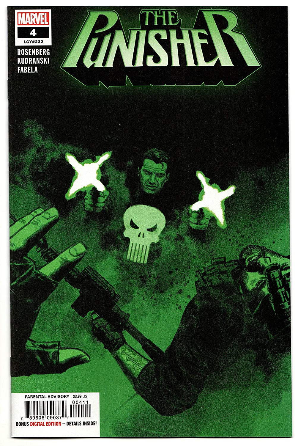 Punisher #4 (Marvel, 2018) NM