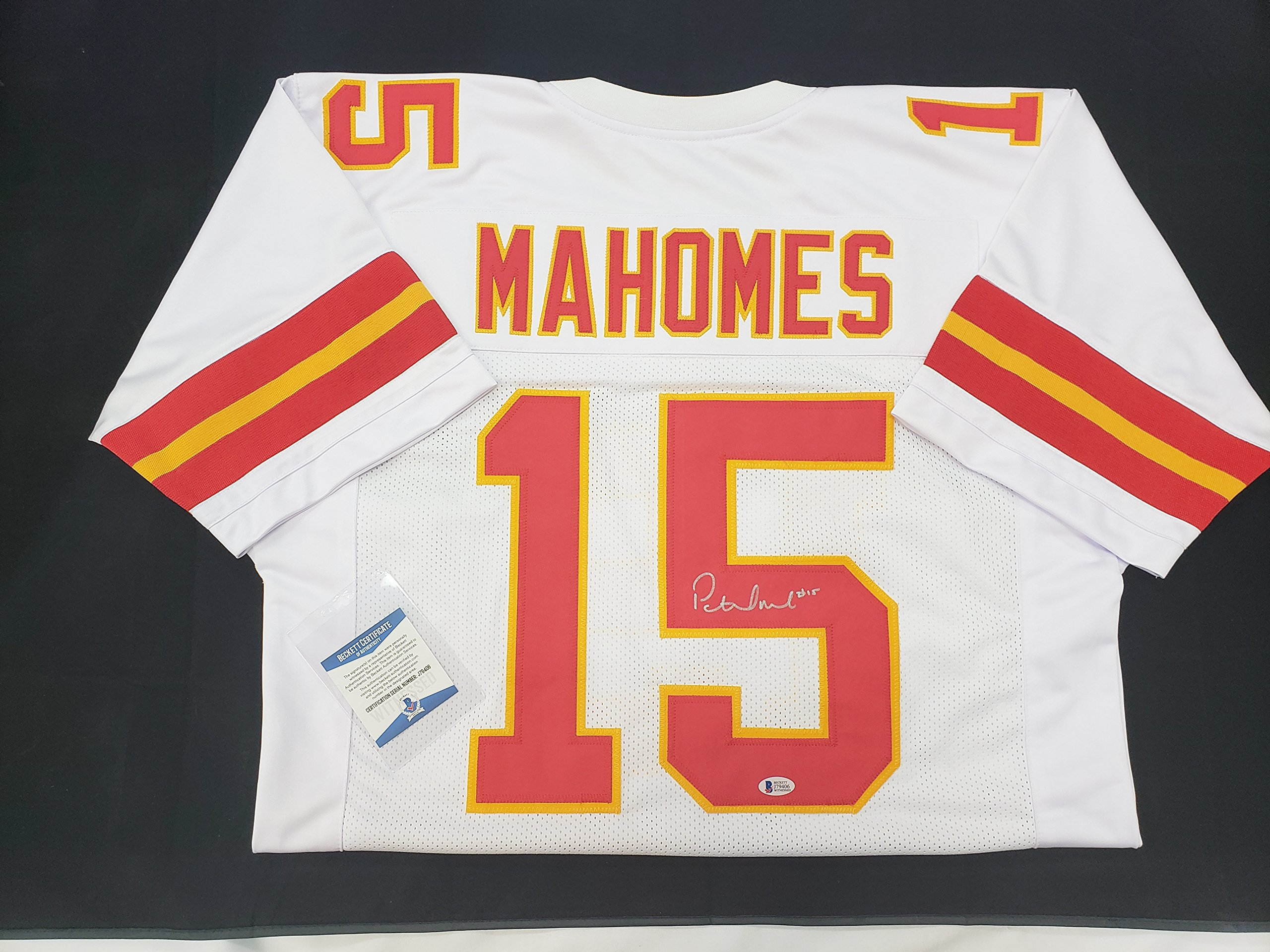Patrick Mahomes Signed Kansas City Chiefs Red or White Jersey