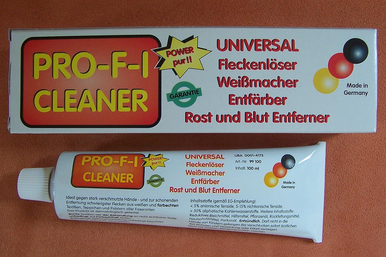Pro F I Cleaner Smacchiatore 100 Ml Crema Noto Dalla Qvc Amazon It Salute E Cura Della Persona