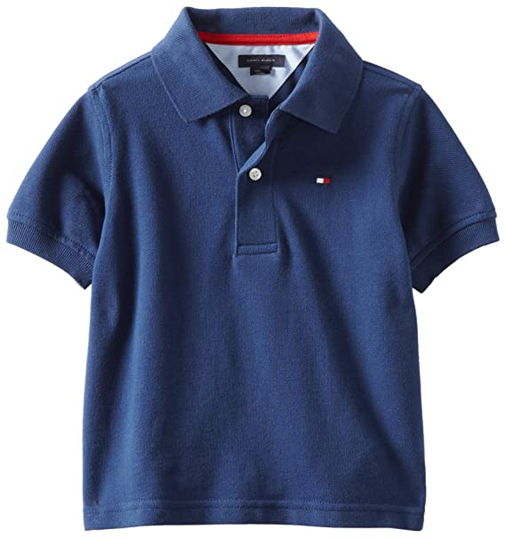 1a0ac1c80b5a Tommy Hilfiger Boys  Short Sleeve Ivy Polo Shirt  Amazon.ca  Clothing    Accessories