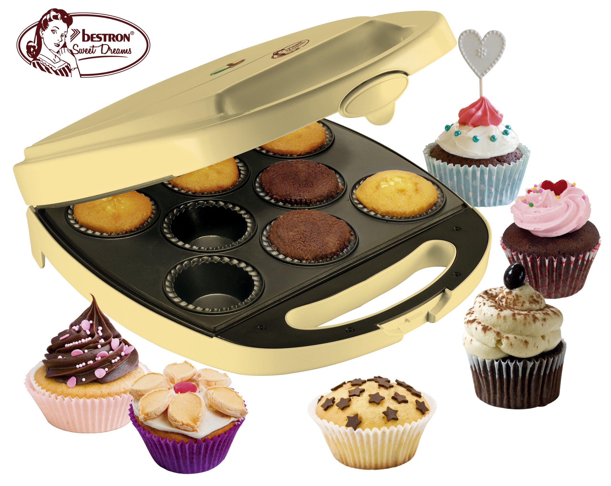 Bestron DKP2828 Pie und Cupcake Gerät 1400 Watt product image