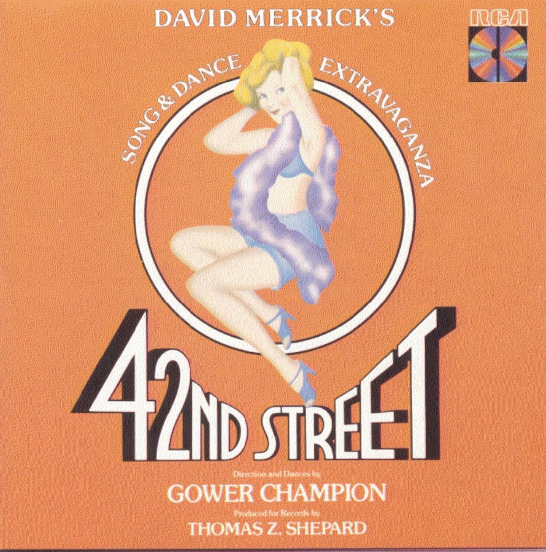 42nd Street Louisville-Jefferson County Mall 1980 Original Cast Broadway Opening large release sale