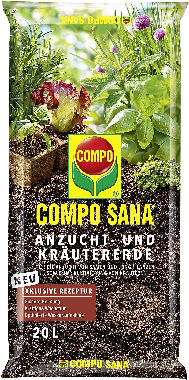 Compo 1062804 - Tierra para hierbas (20 L) [Importado de Alemania]