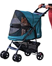 Pet Gear PG8100NZEM Happy Trails No Zip Pet Stroller, Emerald