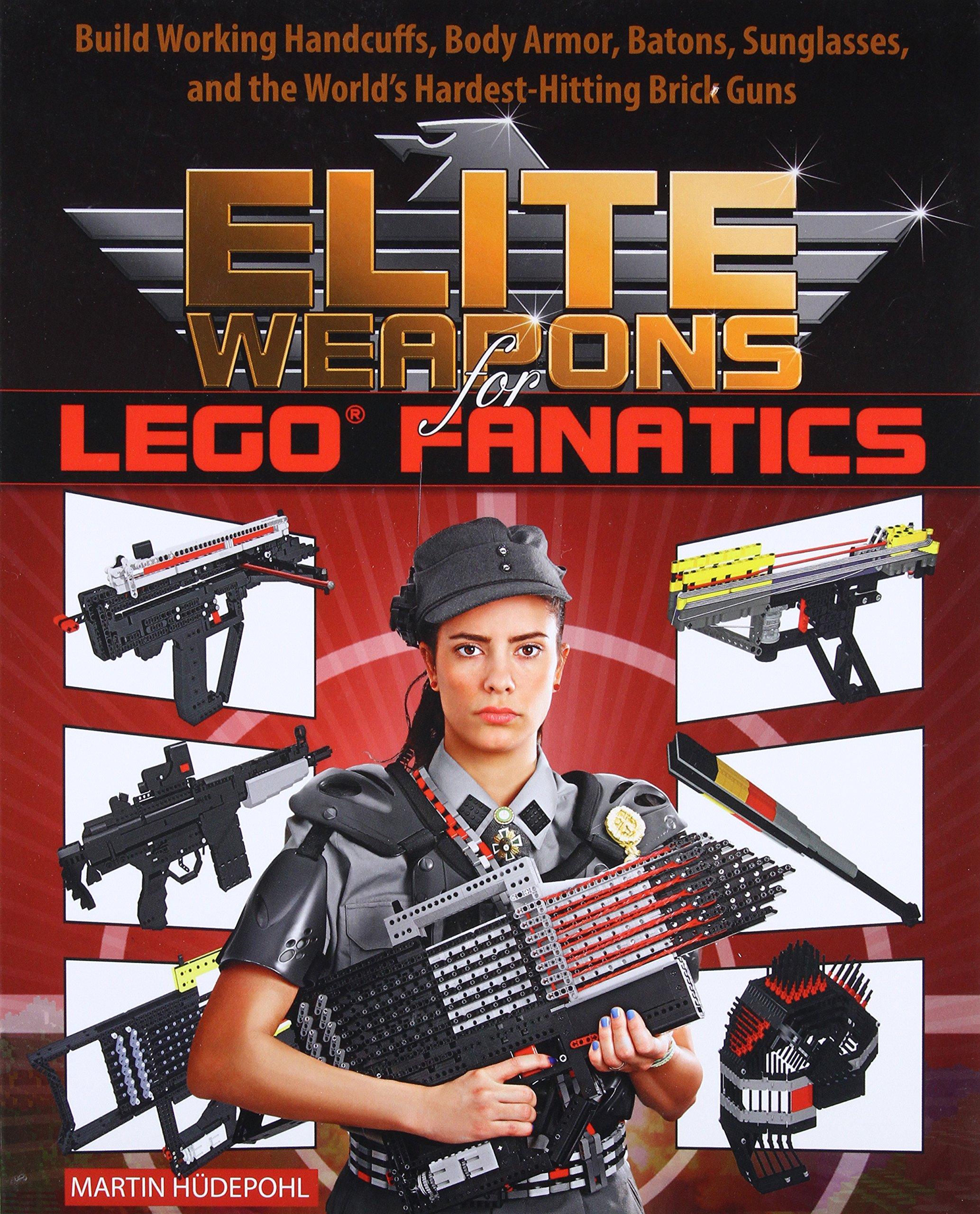 Elite Weapons For Lego Fanatics Build Working Handcuffs Body Armor