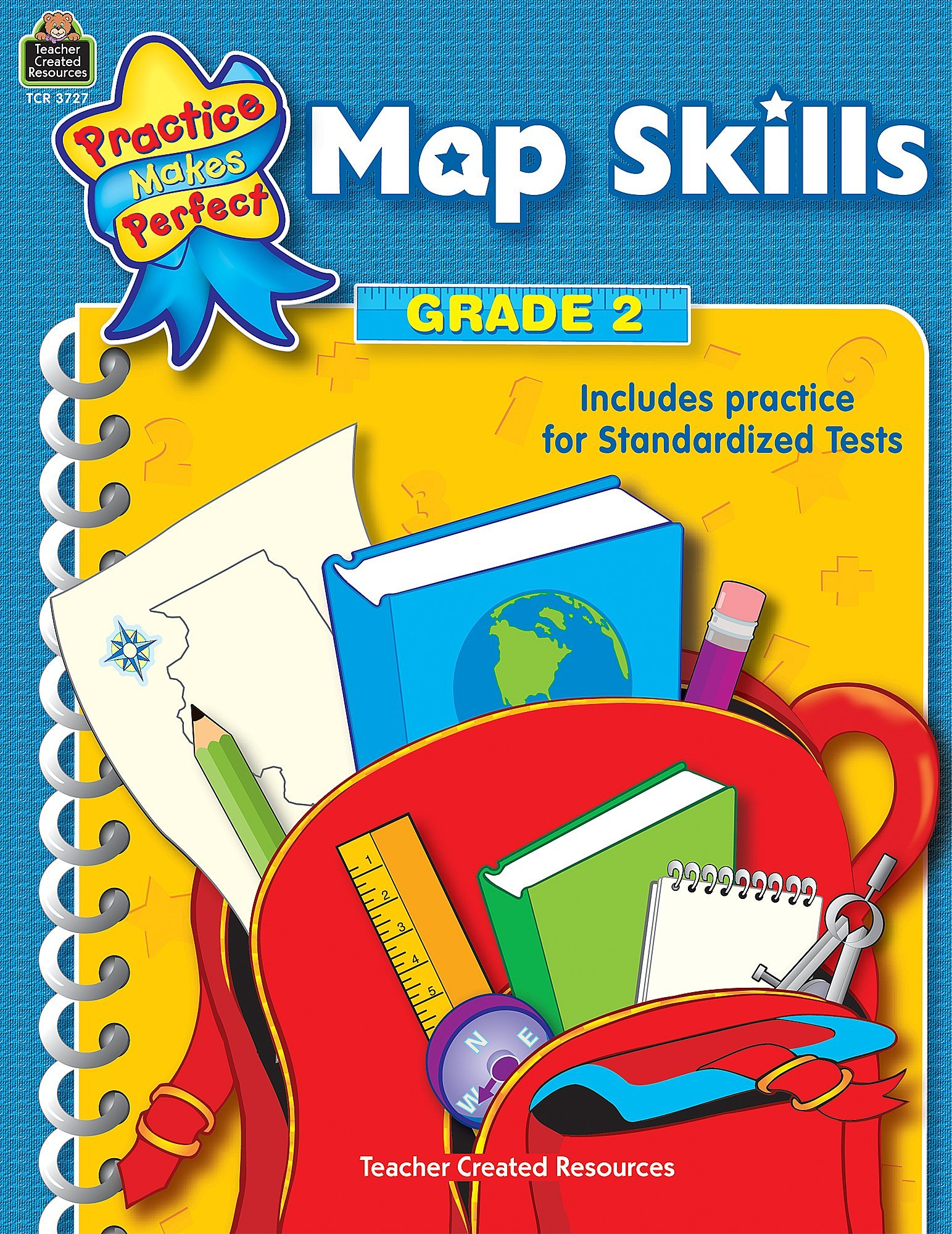 Download Map Skills Grade 2 (Practice Makes Perfect (Teacher Created Materials)) PDF