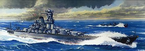 amazon com fujimi 1 700 japanese battleship musashi toys games