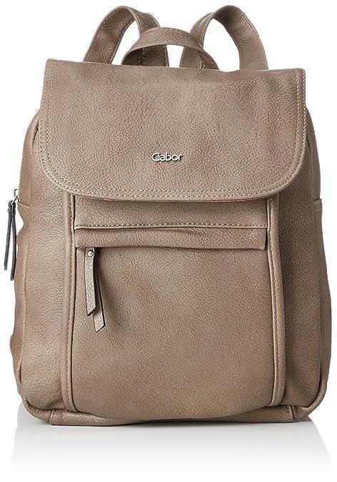 Gabor 7978 - Bolso mochila de Sintético Mujer, color Marrón, talla 10x31x26 cm (B x H x T): Amazon.es: Zapatos y complementos