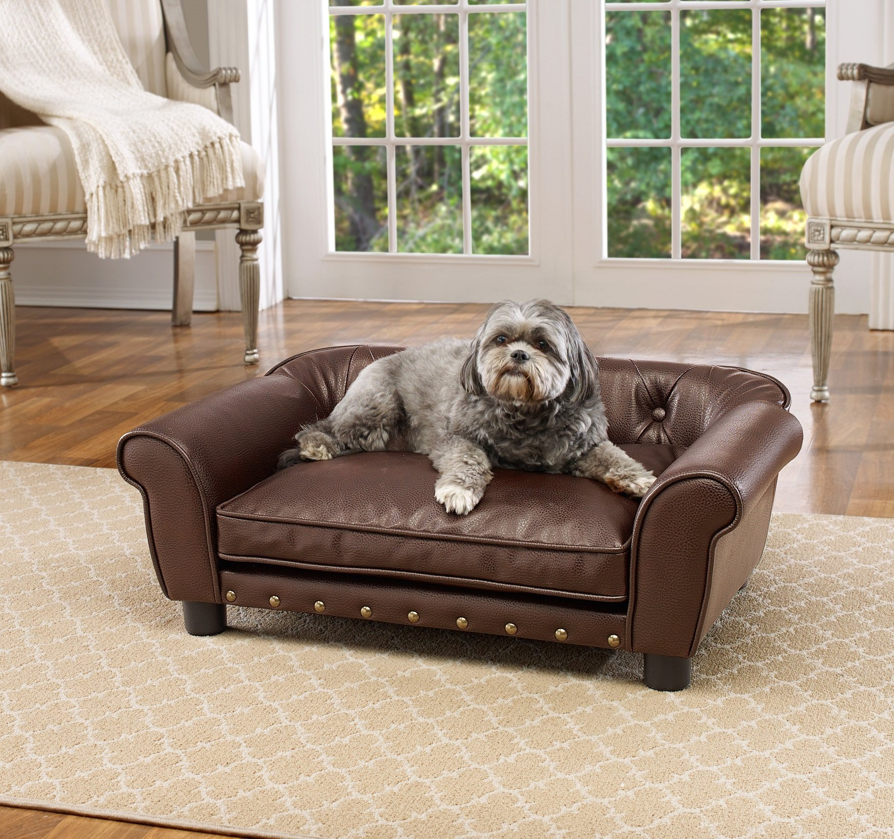 Enchanted Home Pet Brisbane Tufted Pet Bed by Enchanted Home Pet