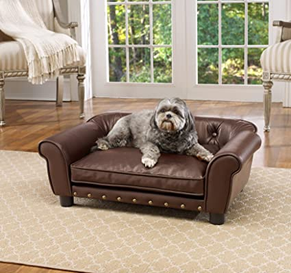 Amazon.com : Enchanted Home Pet Brisbane Tufted Pet Bed : Pet Supplies