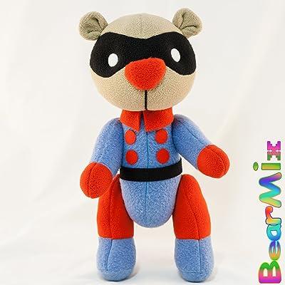 Bucky bear - marvel superhero movie comic plush toy avengers bucky barnes
