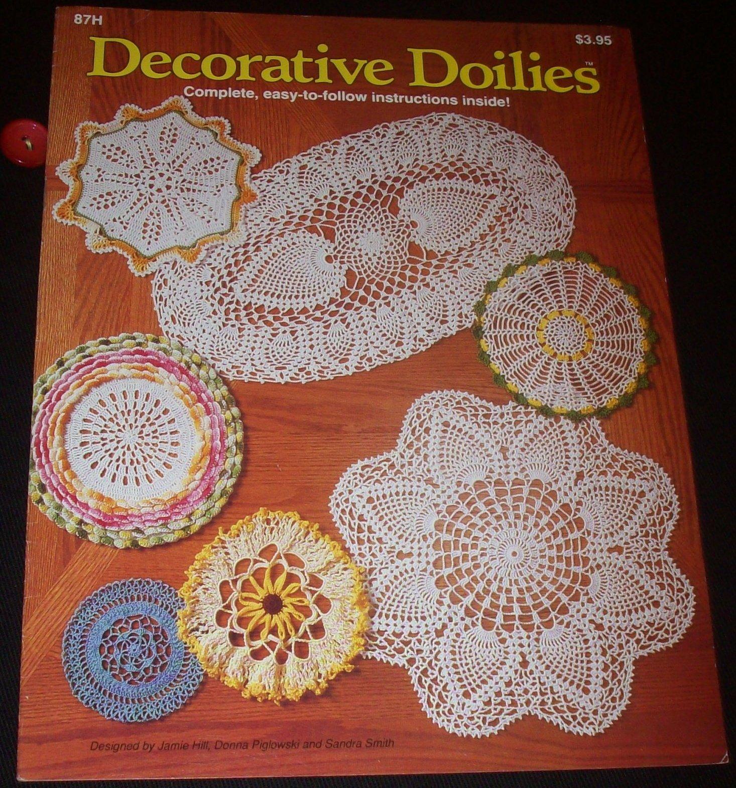 Decorative Doilies Crochet Donna Piglowski And Sandra Smith
