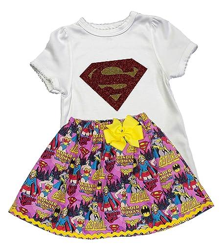 Amazon Girl Wonder Woman Birthday Outfit Dress Handmade