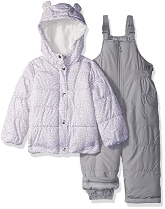 493a34ff66c3 Amazon.com  Carter s Girls  Toddler 2-Piece Snowsuit with Ears