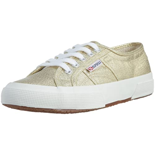 Superga Superga Superga 2750 Lamew, Damens's Niedrig Top Sneakers, Gold (174 31be6e