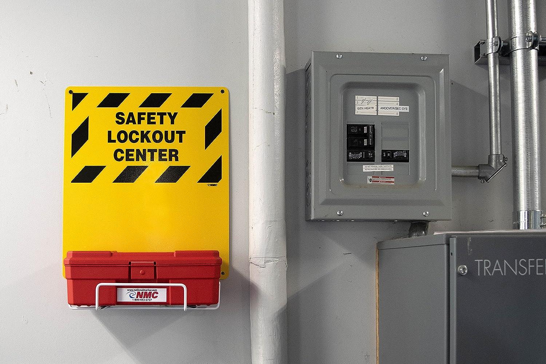 NMC LOK2 11 Piece Electrical Lockout Center Kit, 14\