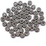 BRCbeads *品质藏银垫珠饰珠宝制作变体形状和尺寸 Sunflower Style #1 5mm unknown