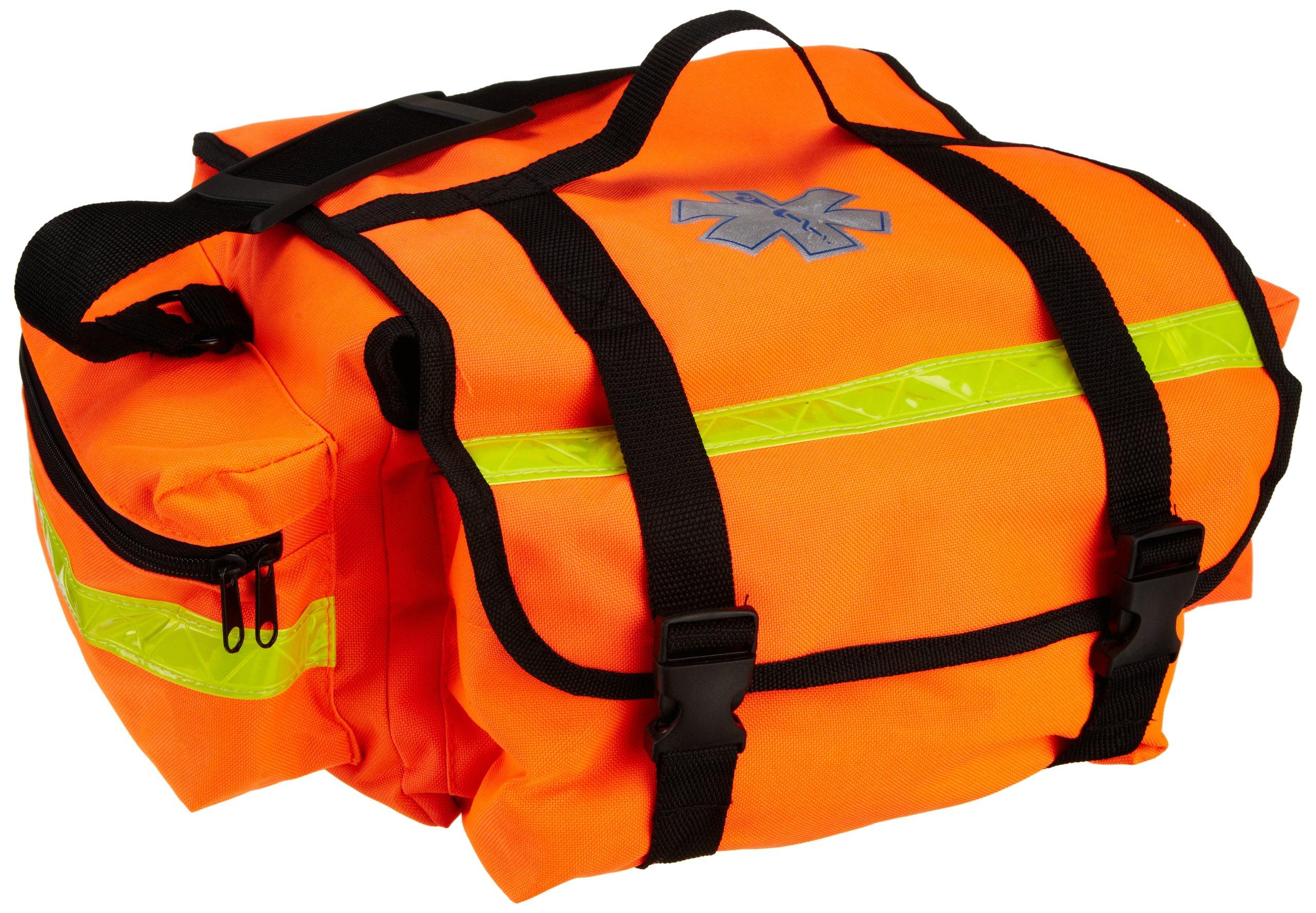 Primacare KB-RO74-O Trauma Bag, 7'' Height x 17'' Width x 9'' Depth, Orange