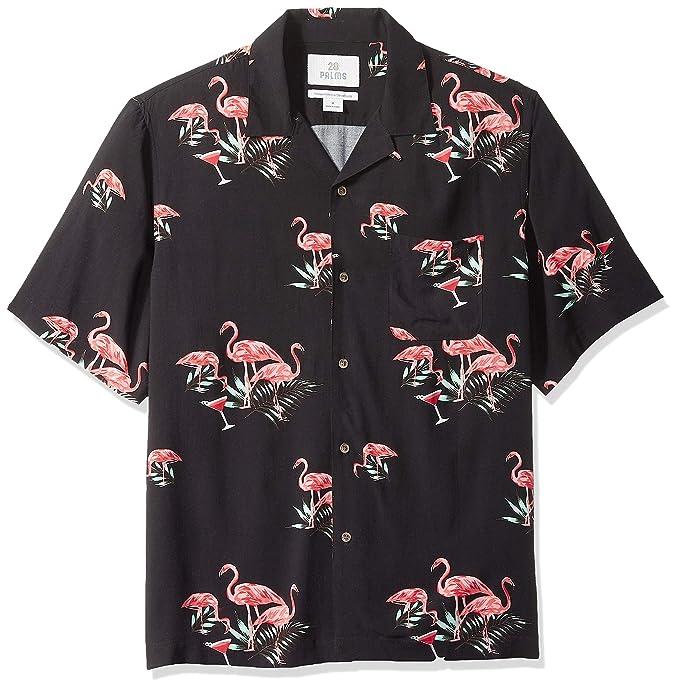 Marchio Amazon 28 Palms, camicia da uomo, stile vintage