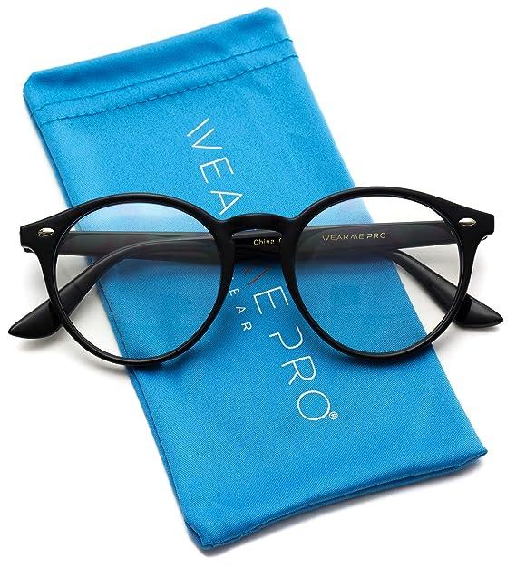 Amazon.com: Gafas de plástico con filtro de luz azul y lente ...