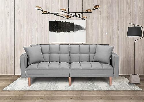 Futon Foldable Sleeper Sofa Bed,Split Type