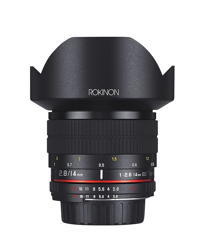 Amazon.com : Rokinon 14mm f/2.8 IF ED UMC Ultra Wide Angle Fixed Lens w/ Built-in AE Chip for Nikon : Camera Lenses : Camera & Photo
