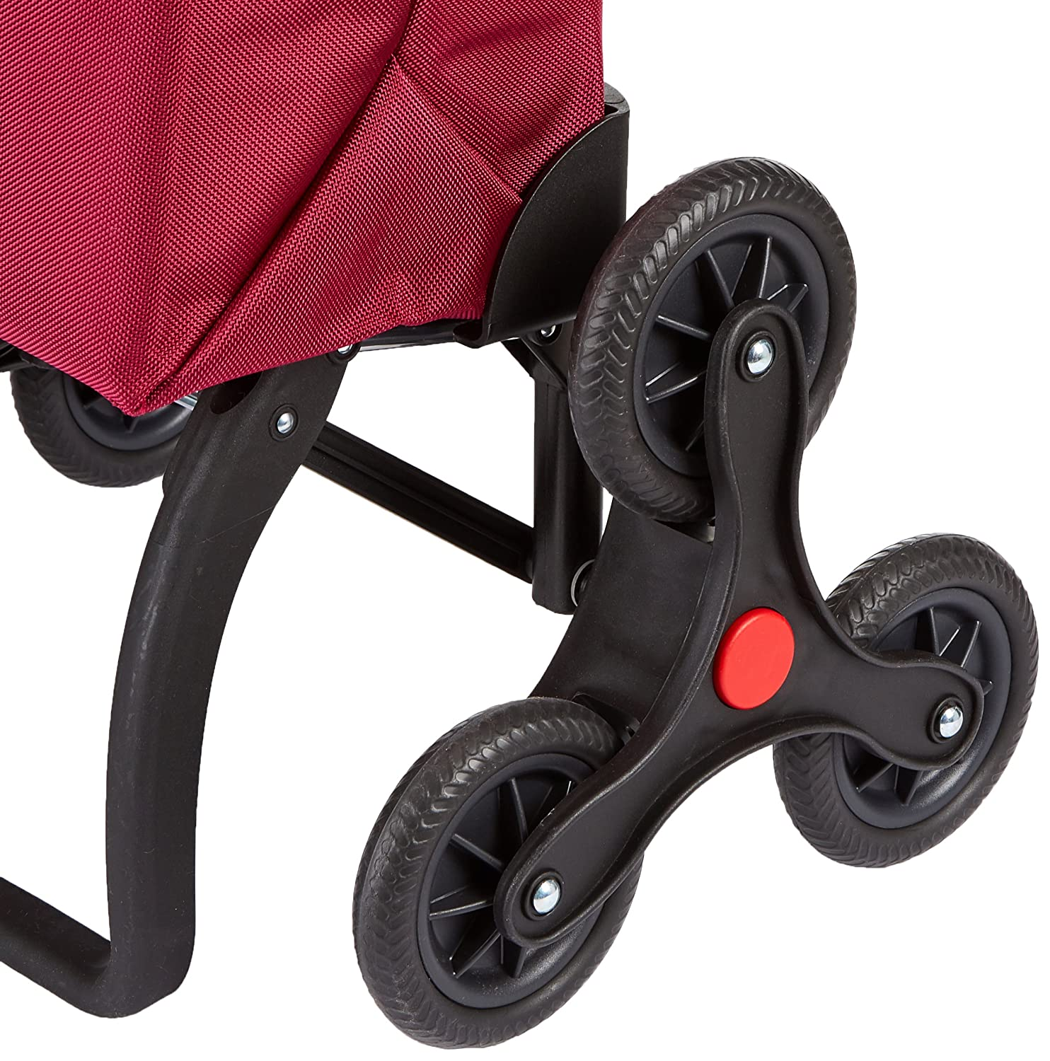 Rolser Paris MF RD6 - Carro de la compra de 6 ruedas, especial escaleras, color bassi: Amazon.es: Hogar